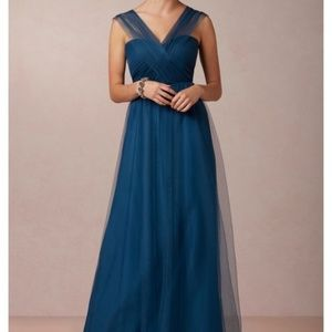 Anthropologie BHLDN Jenny Yoo Annabelle Tulle Gown